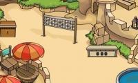 Kum ev bulmacası