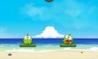 Kurbağa su içiyor